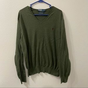 Polo Ralph Lauren sweater green large